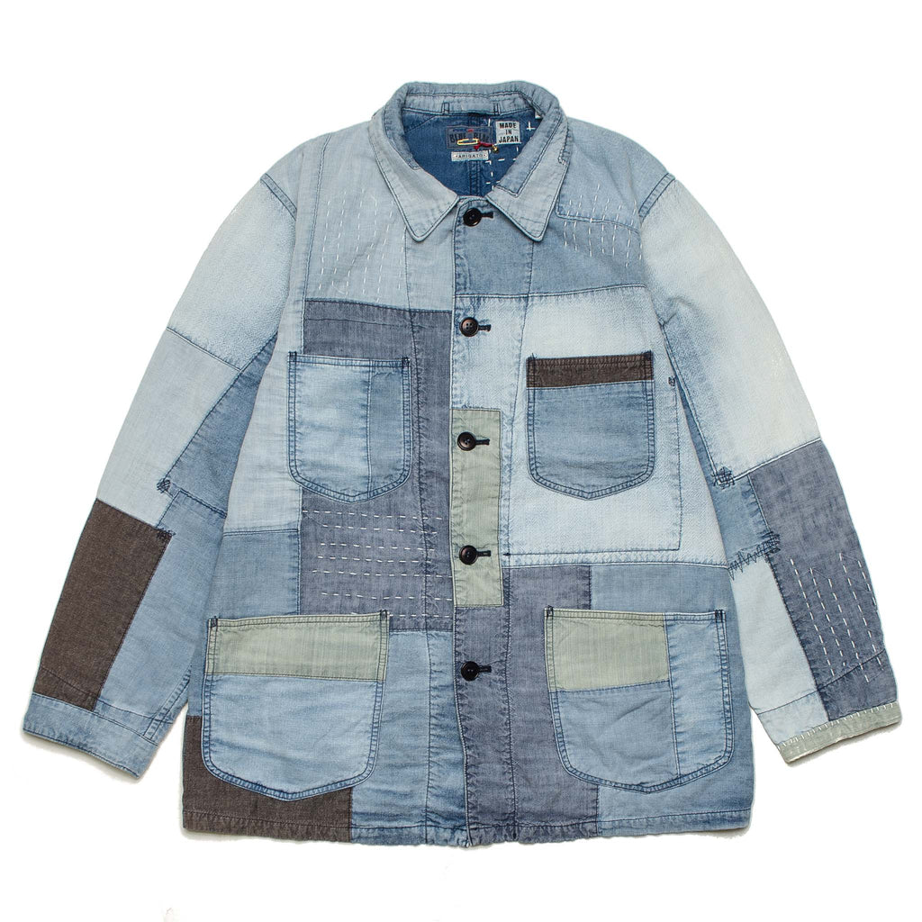 Patchwork 'Yuki Fubuki' Coverall Denim