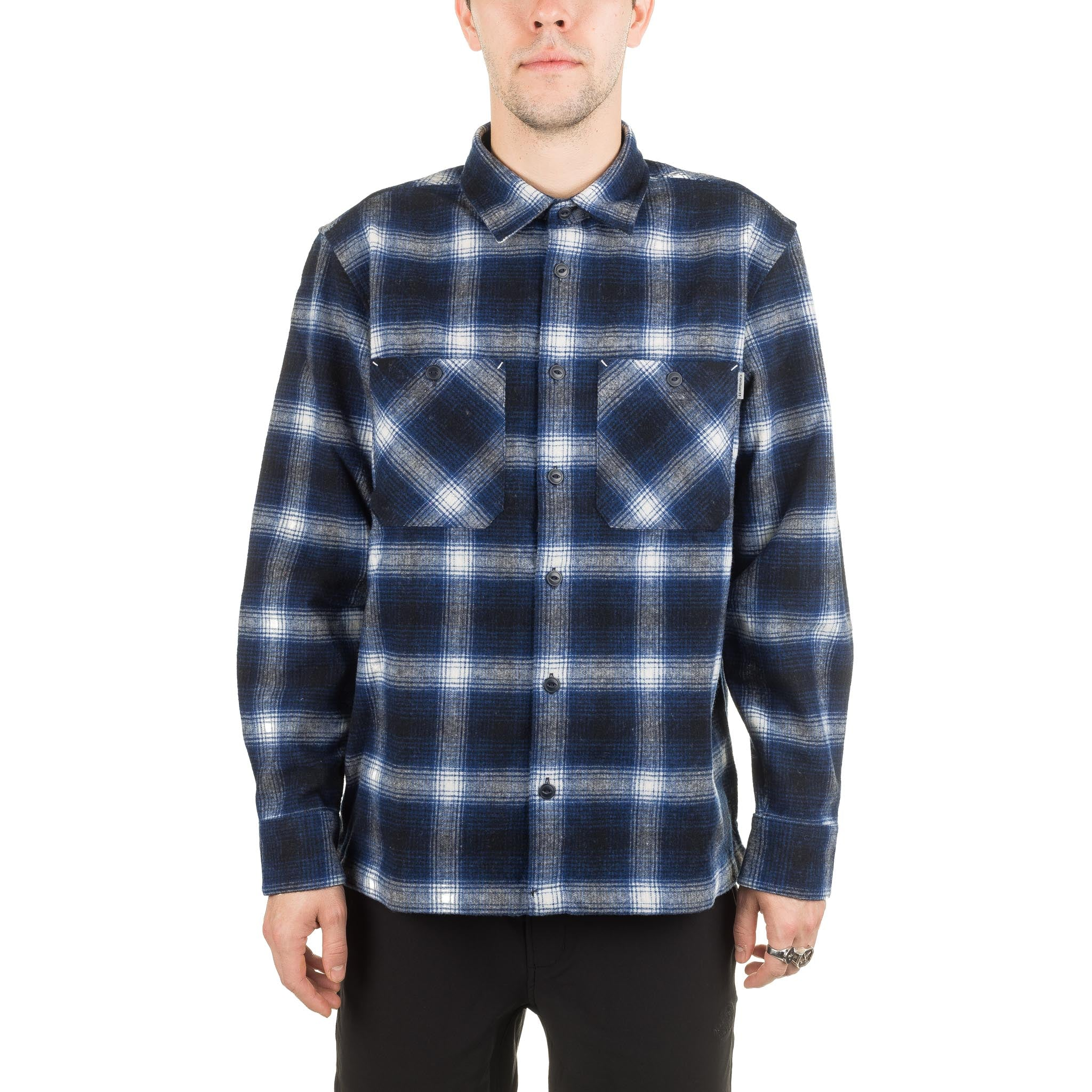 L/S Halleck Shirt I025240 Blue