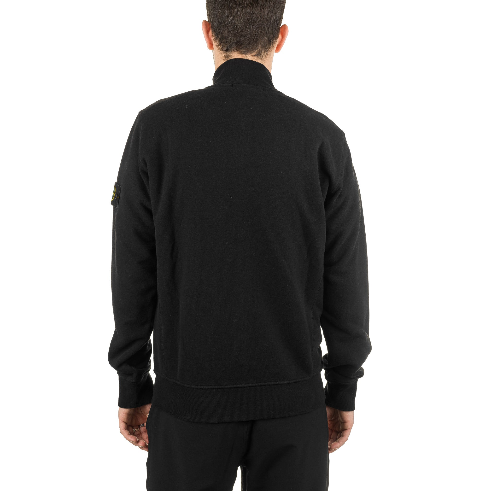 SI Garment Dyed Zip Sweater 711561620 Black
