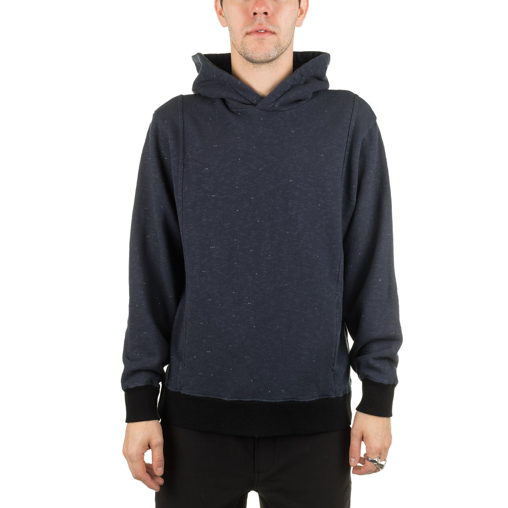 Starry Night Split Hoodie 77243 Navy