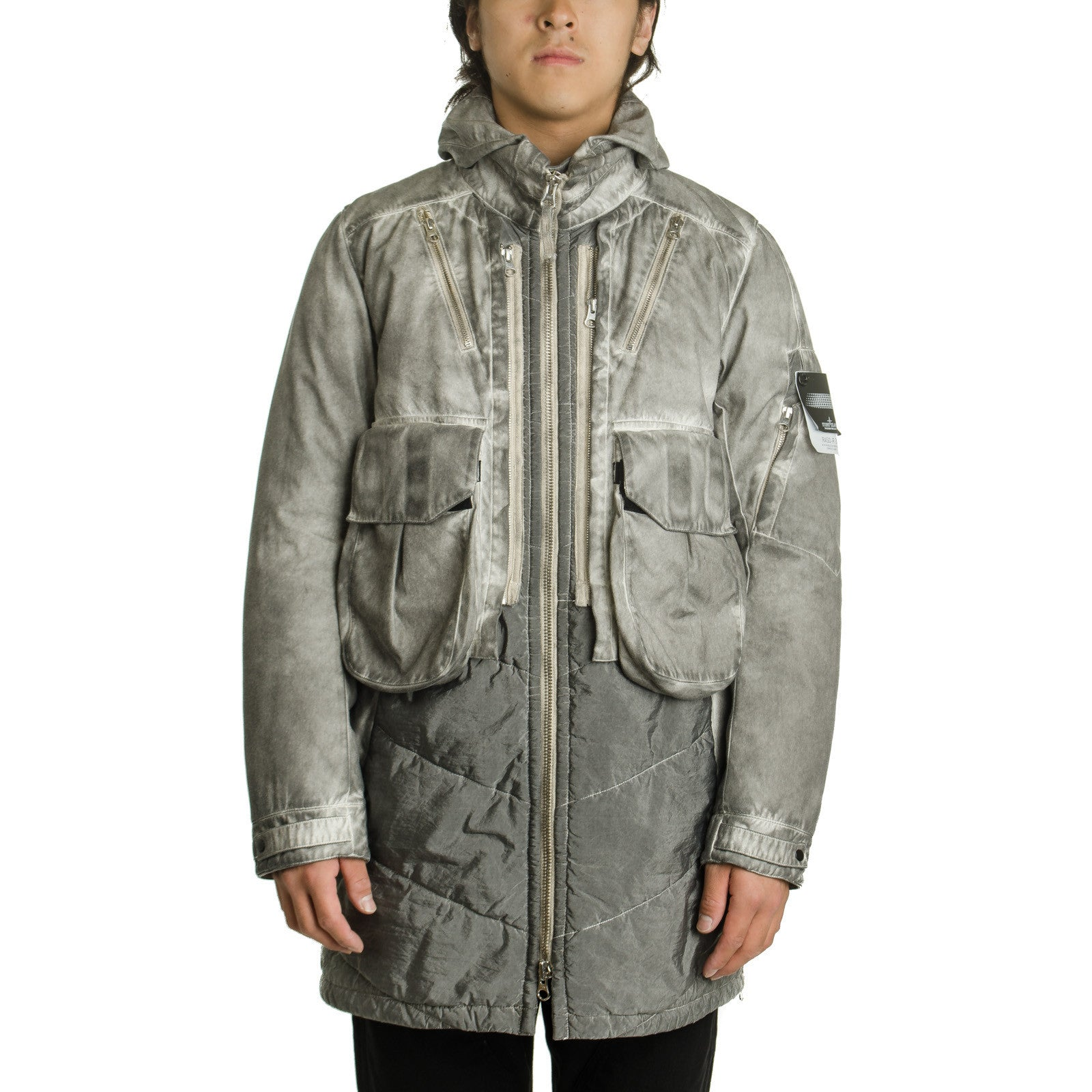 SP Raso-R 3L Coat Grey 651970501
