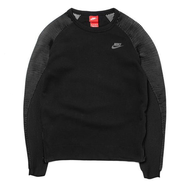 W Tech Fleece Crew  809537-010 Black