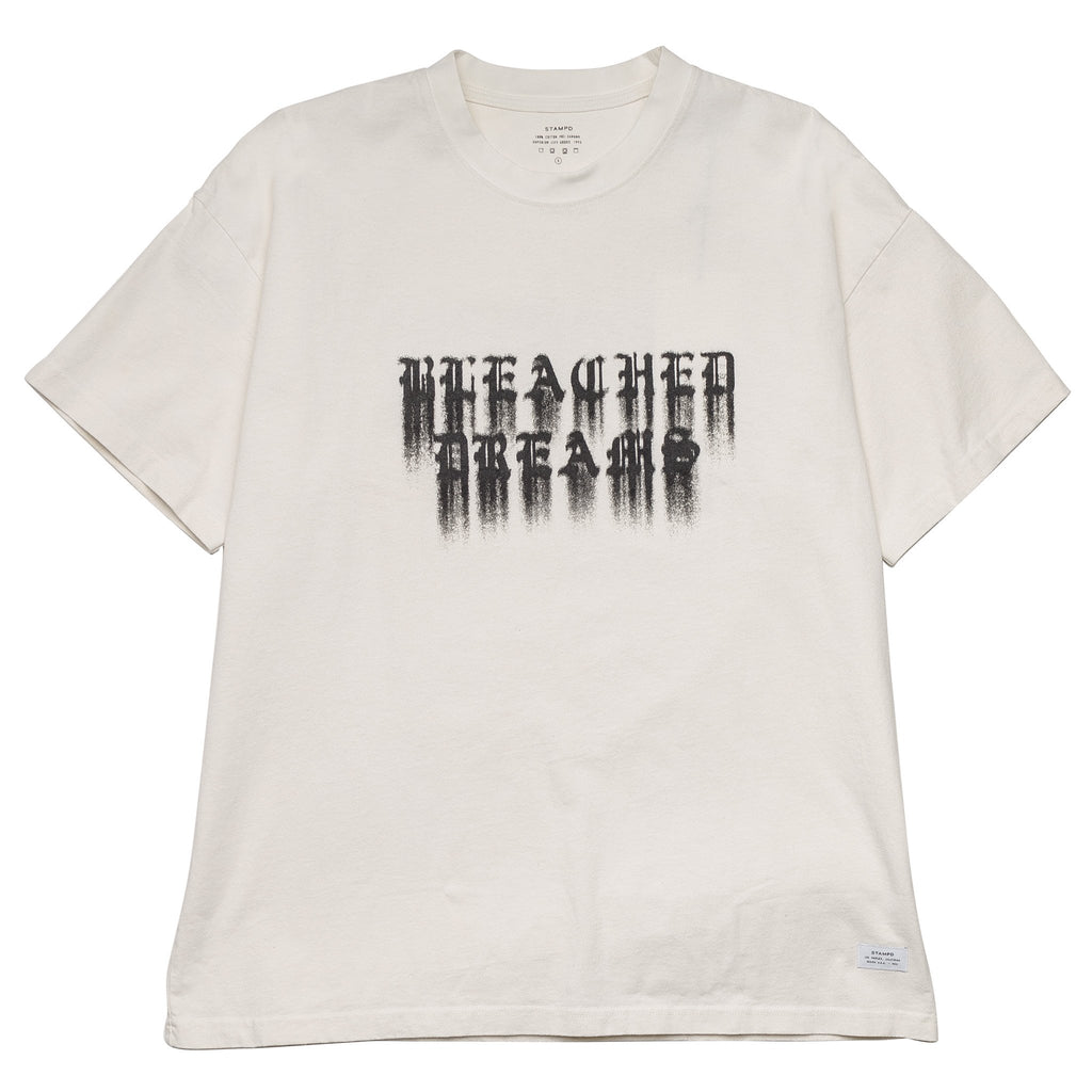 Bleached Dreams Short Sleeve Tee White