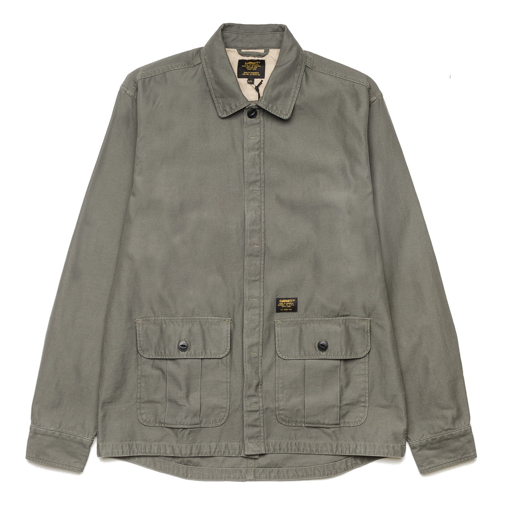 Anson Shirt Jacket Stone Washed Moore