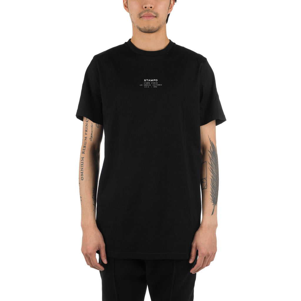 Stacked Stampd Tee Black