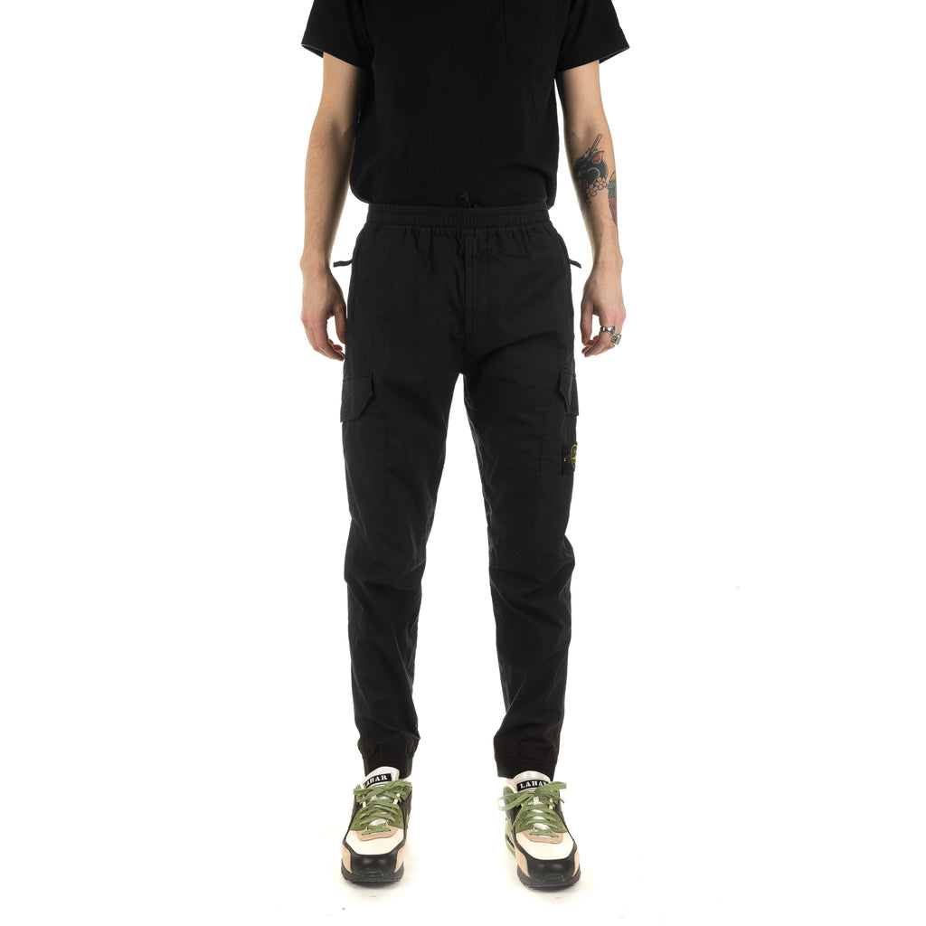 Flap Pockets Cargo Pant 721531403 Black