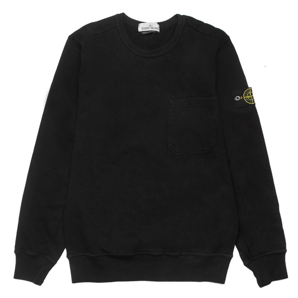 Crewneck Button Pocket 691566261 Black
