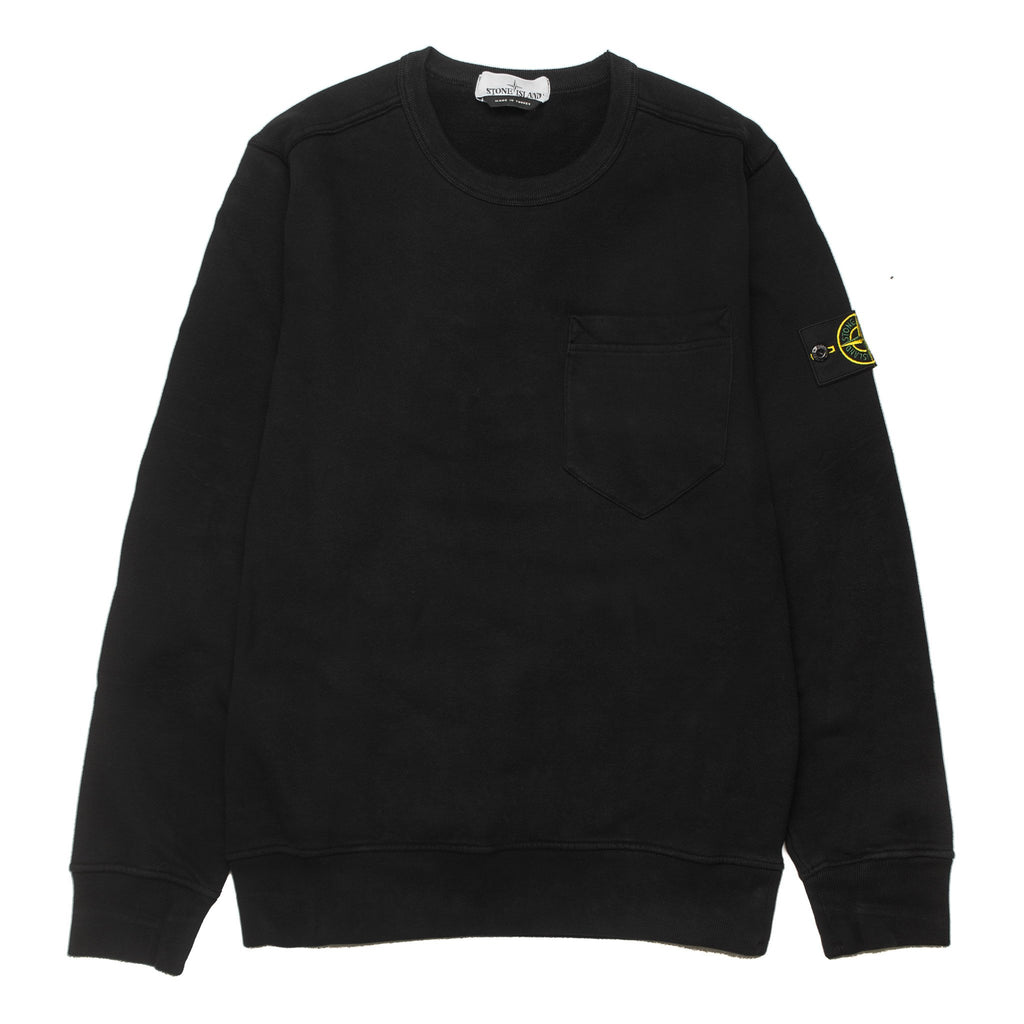 Chest Pocket Sweatshirt 691563820 Black