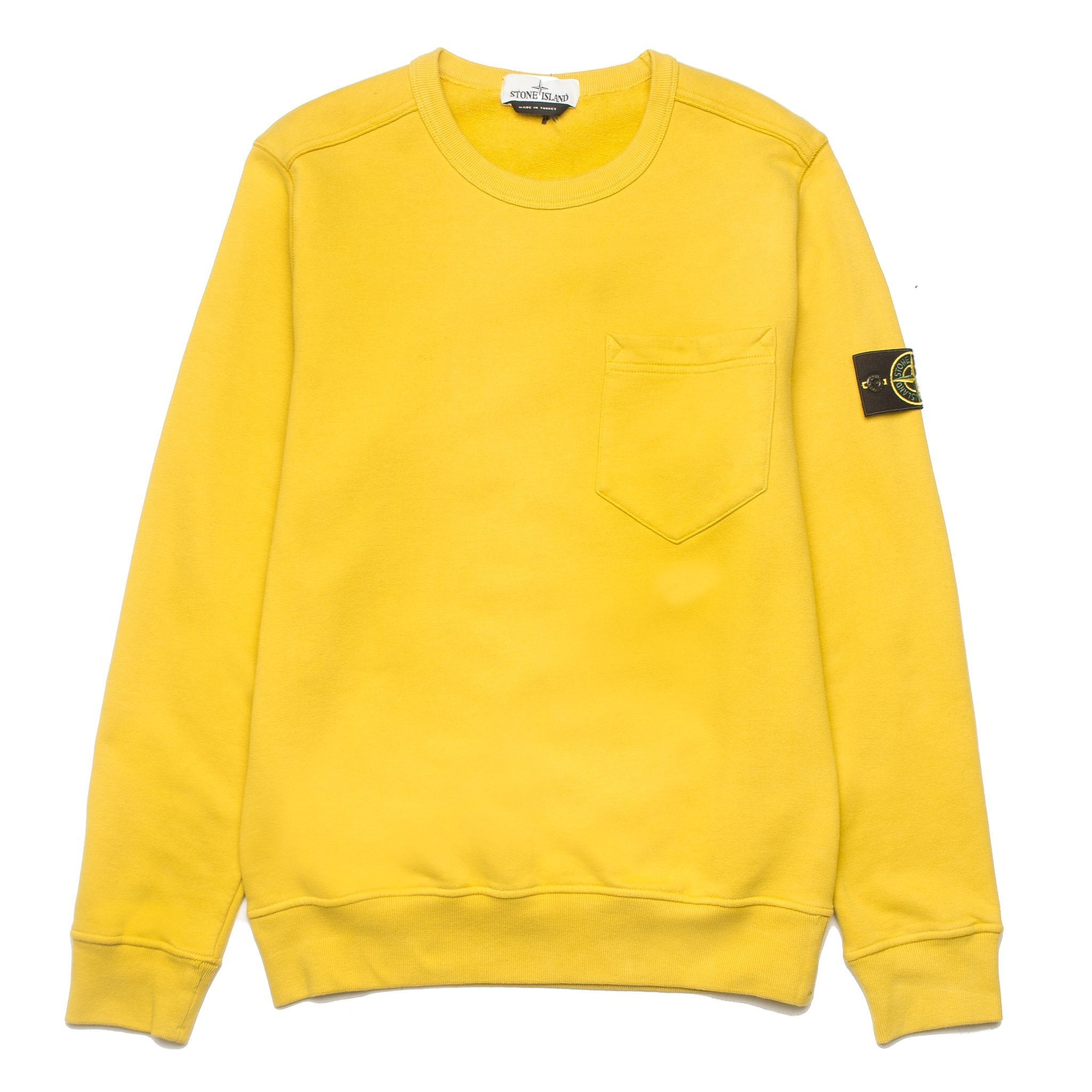 Chest Pocket Sweatshirt 691563820 Mustard