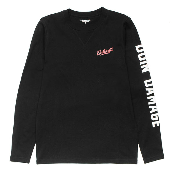 L/S Doin' Damage Tee Black
