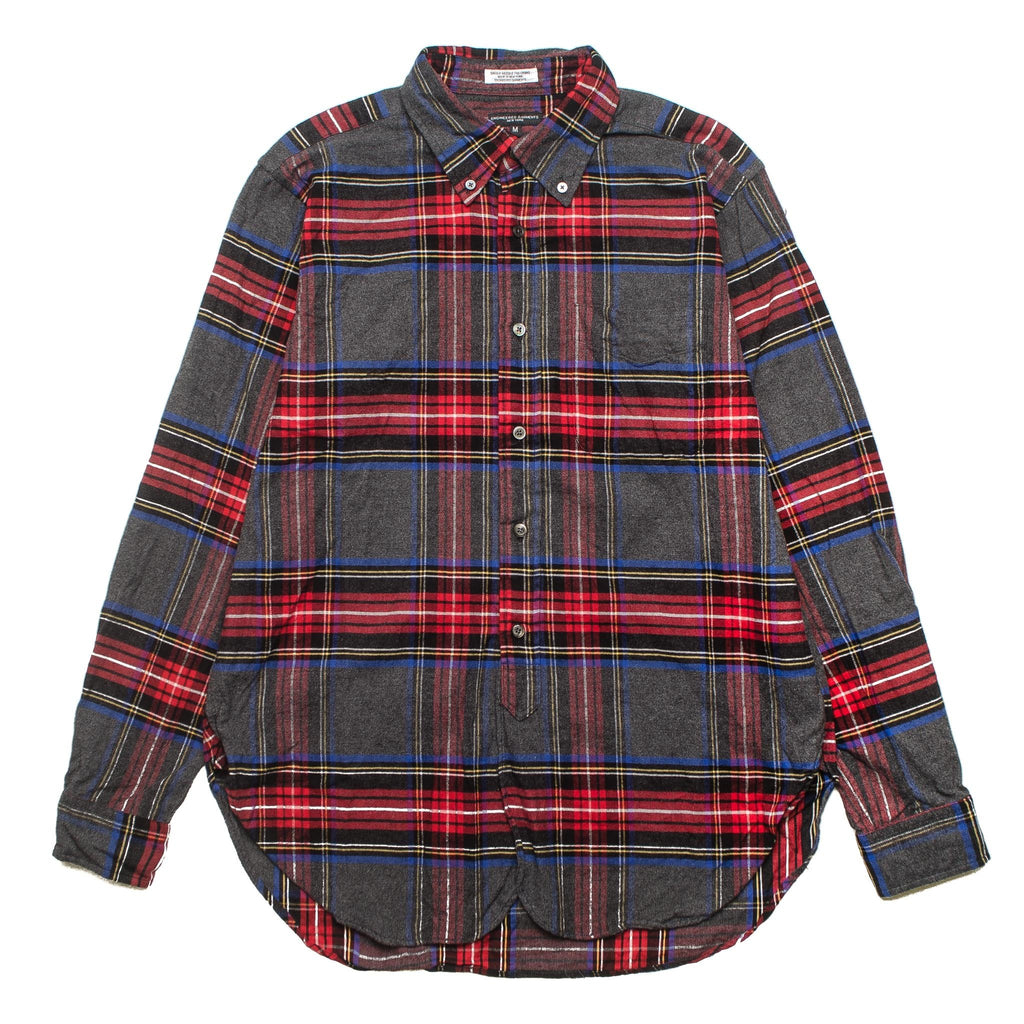 19 Century BD Shirt F8A0111 Brushed Plaid