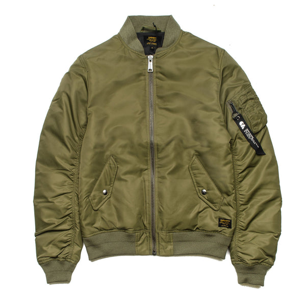 Ashton Bomber Jacket Rover Green