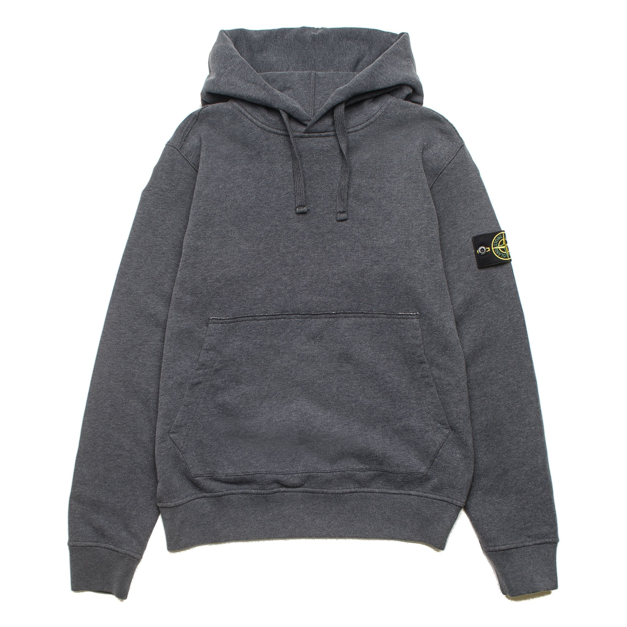 Garment Dyed Hoodie Charcoal