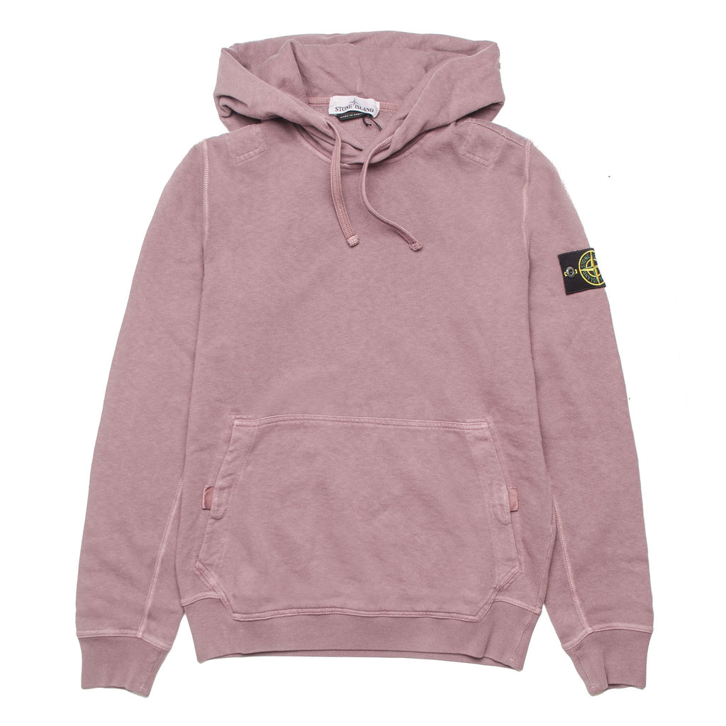 Garment Dyed Old Hoodie 691566161 Rust Pink