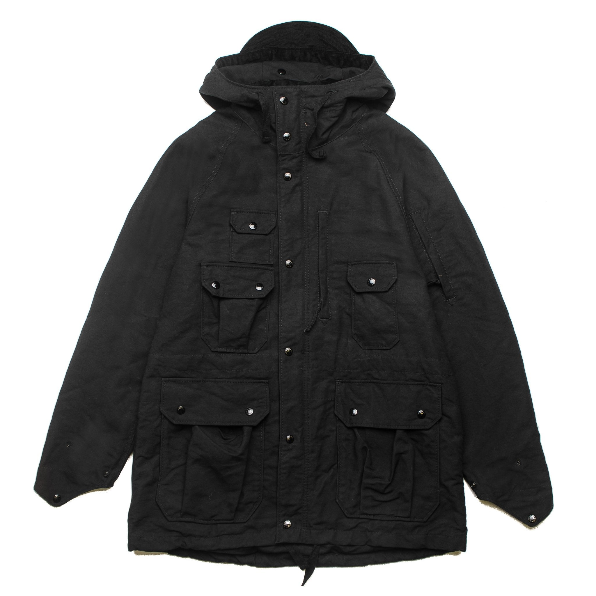 Field Parka Double Cloth F8D1280 Black