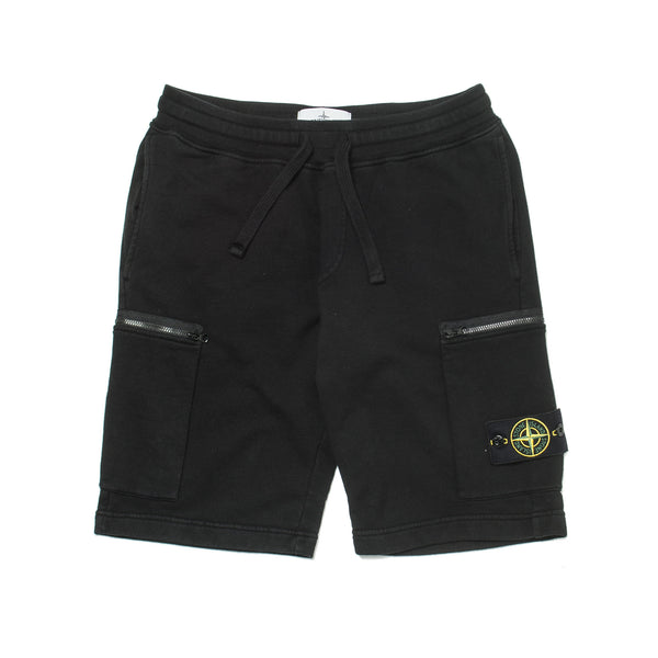 Garment Dyed Sweatshorts Black