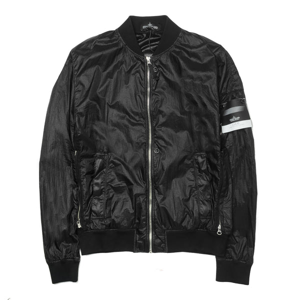 SP Lucid Garment Dye Bomber Black 661940502