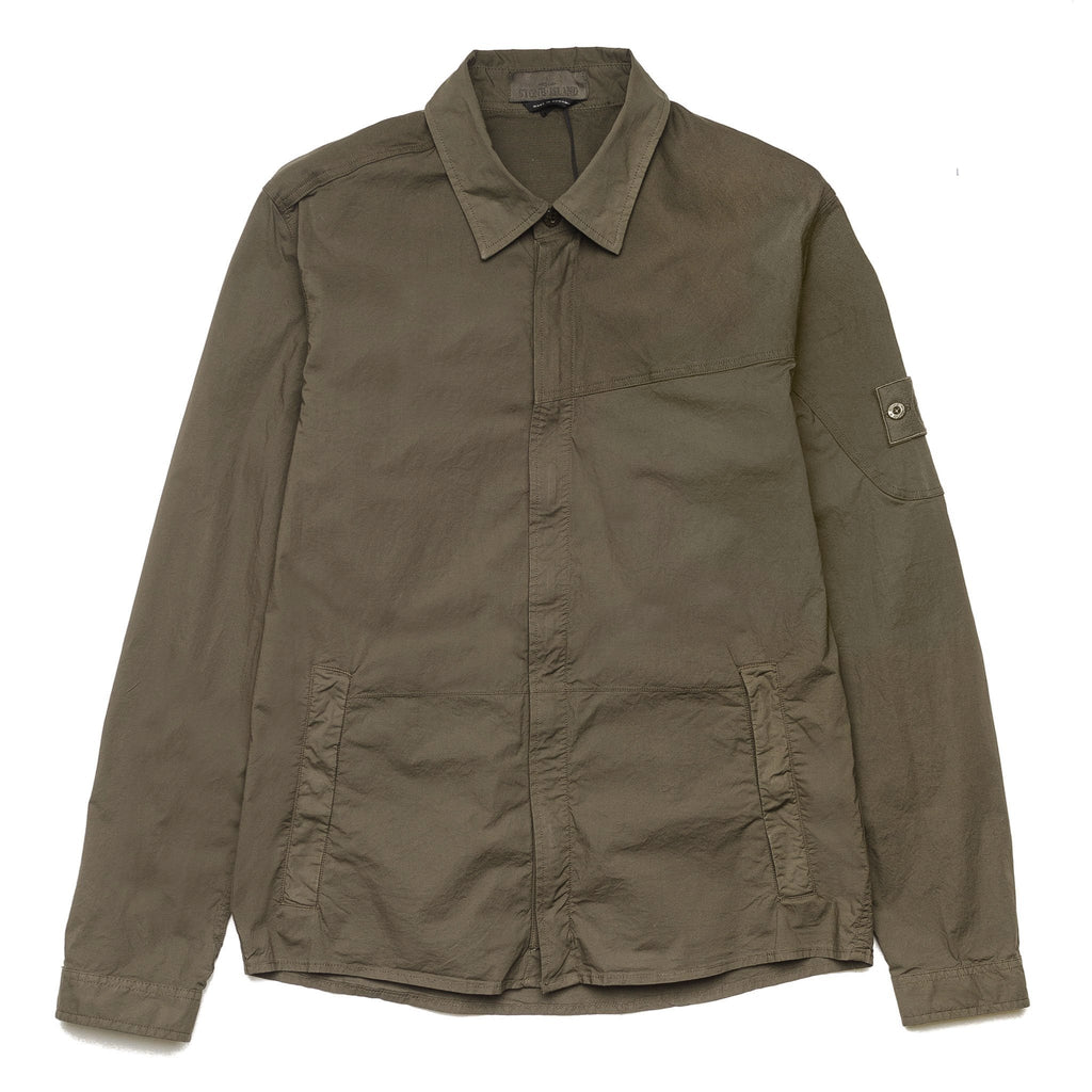 Ghost Piece Over Shirt  6815116F3 Military Green