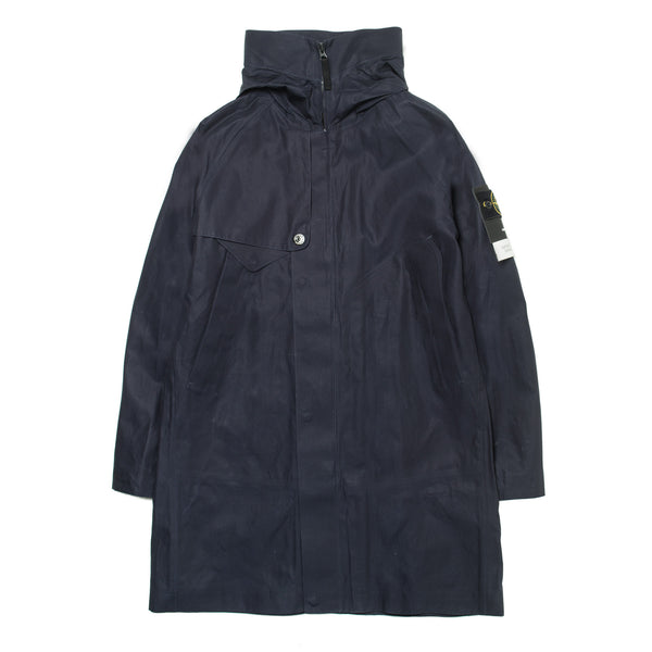 Hooded Trench 661570225 Navy