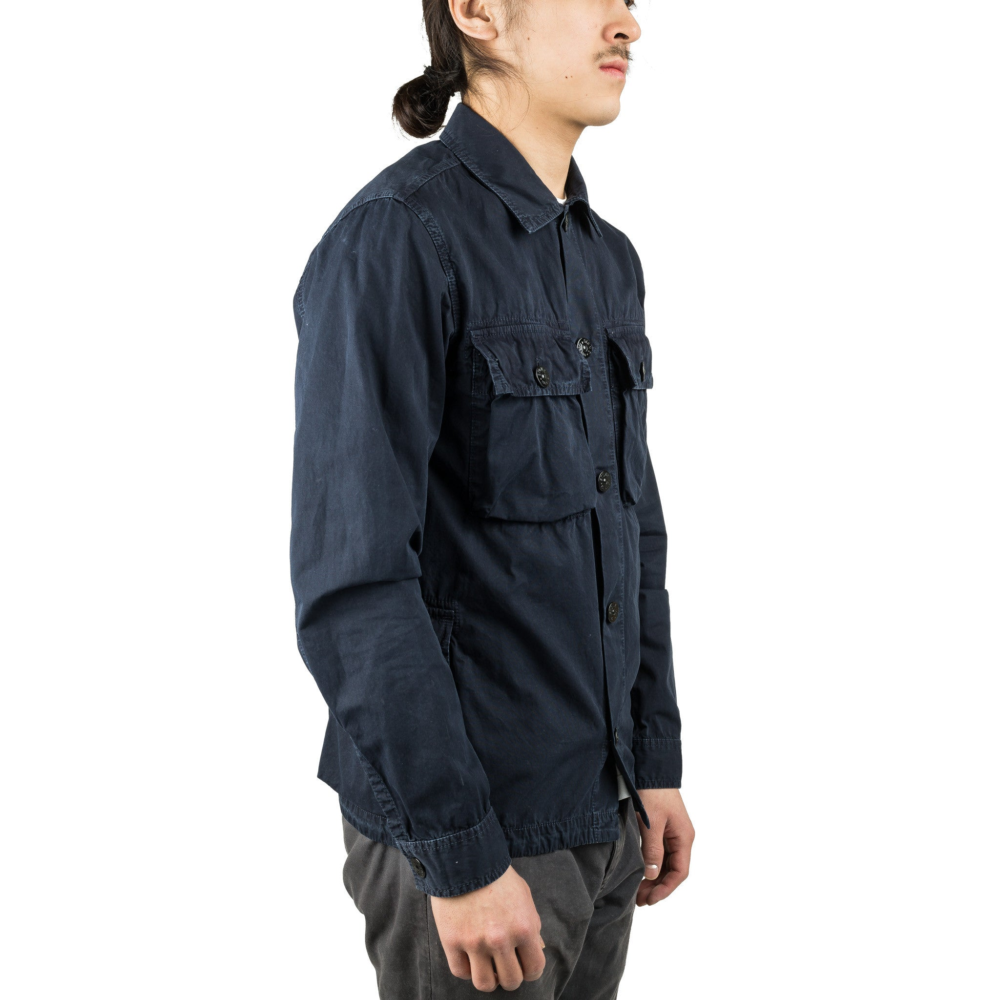 Tela Pocket Overshirt 6615119WN Black