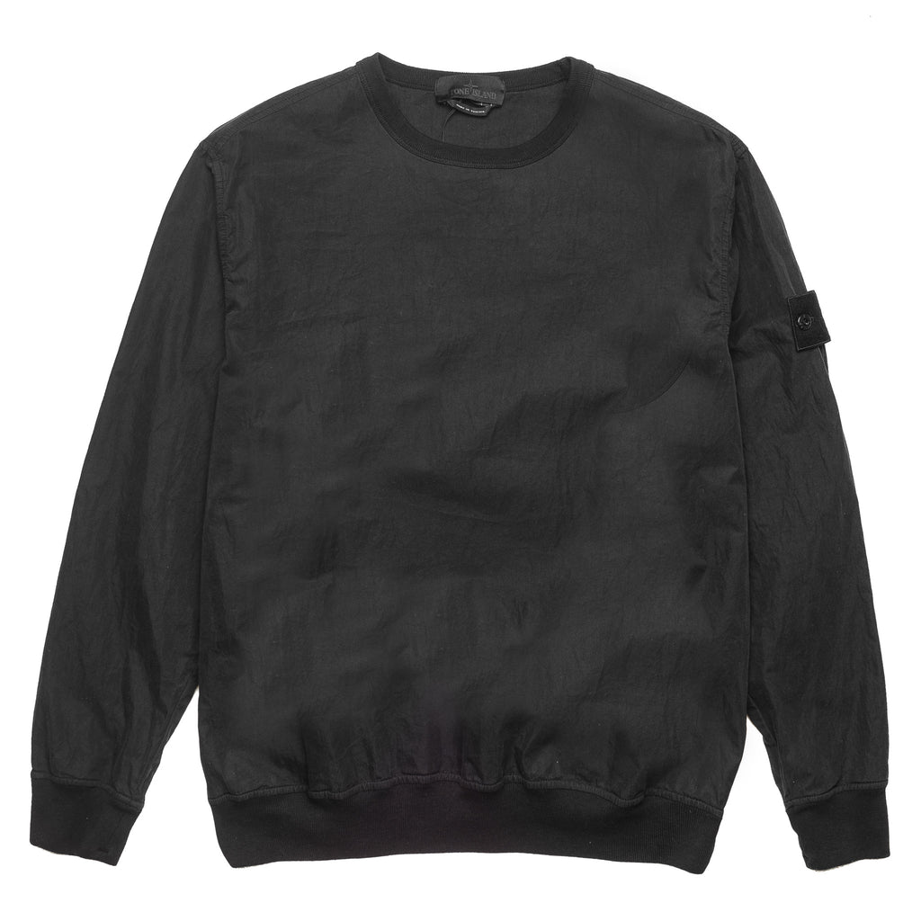 Ghost Nylon Cotton Crewneck 7015659F2 Black