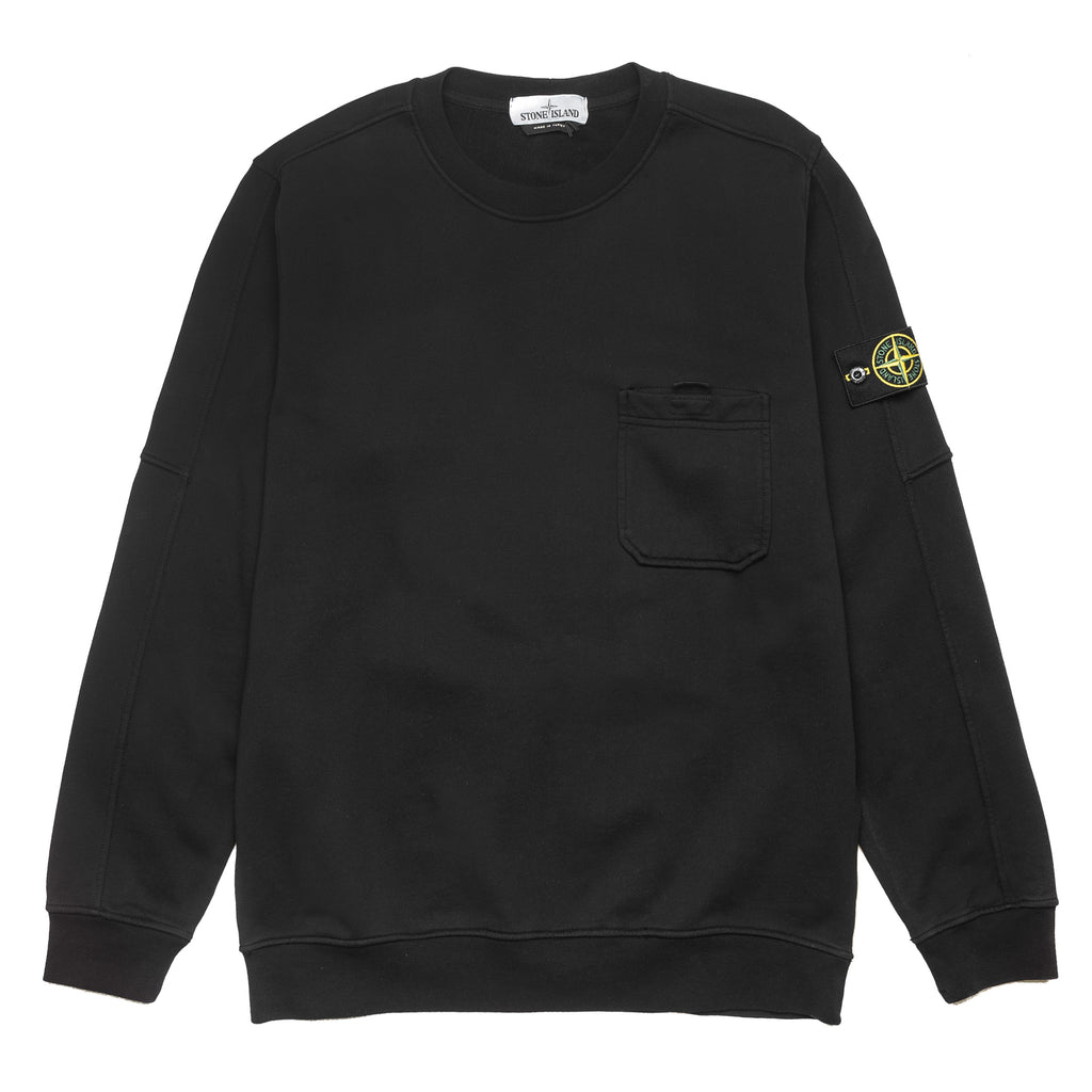 Chest Pocket Crewneck 701560651 Black