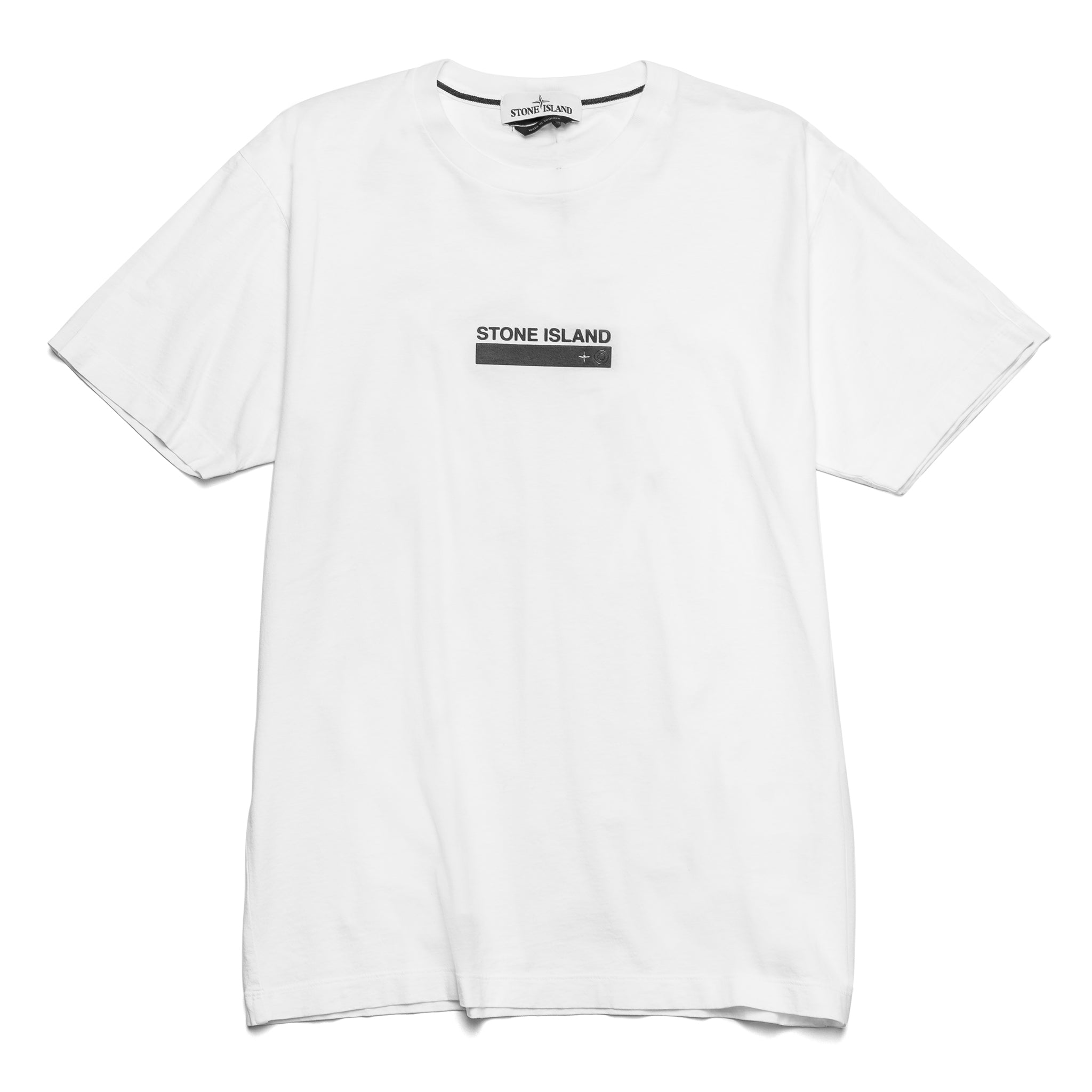 SI Rectangle Logo Tee White 74152NS55