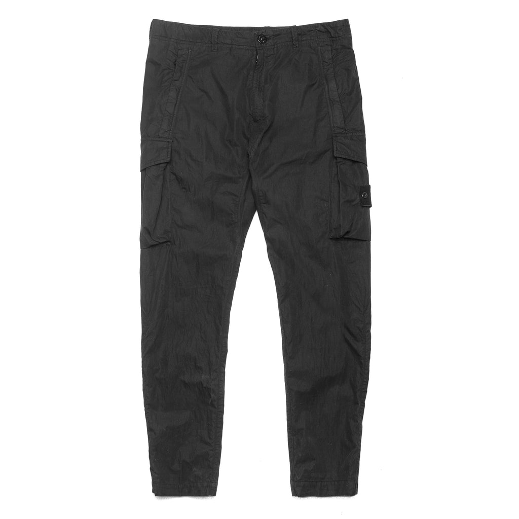 Ghost Nylon Cotton Cargo Pant 7015314F2 Black