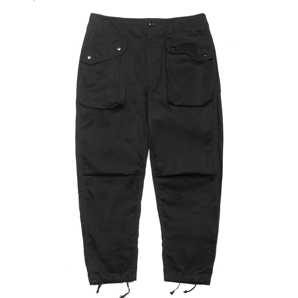 6.5oz Flat Twill Norwegian Pant Black