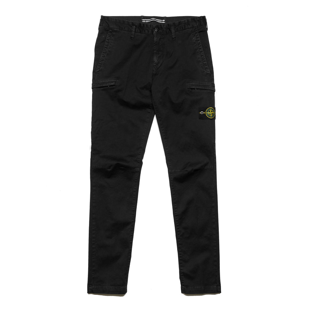 Garment Dyed Zip Pocket Pant 7115321L1 Black