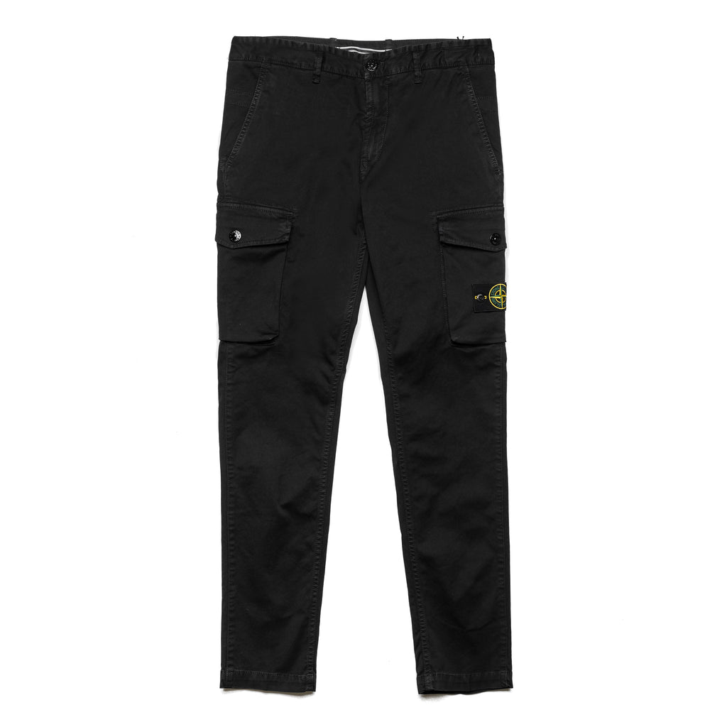 Garment Dyed Cargo Pants 7115308L1 Black