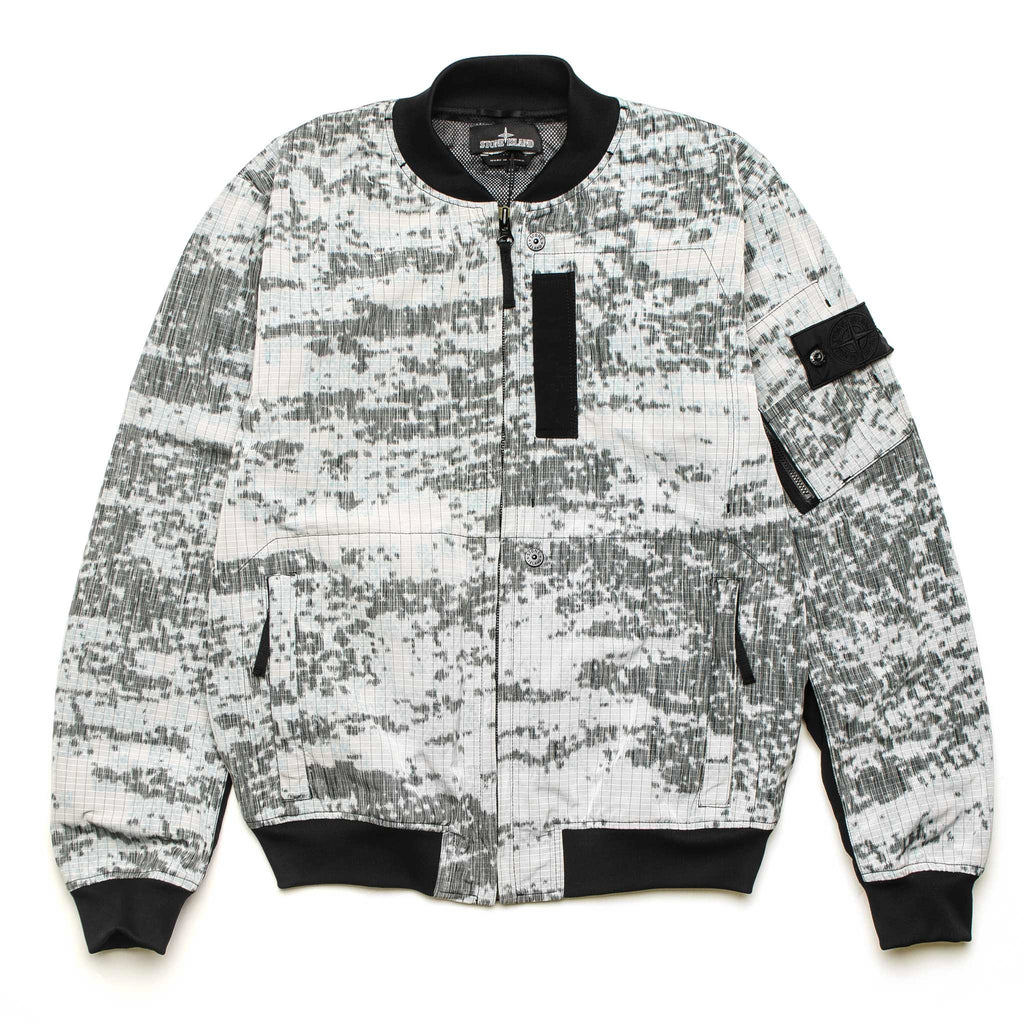 SP DPM Marl Zip Bomber 701940412 V0060 Grey