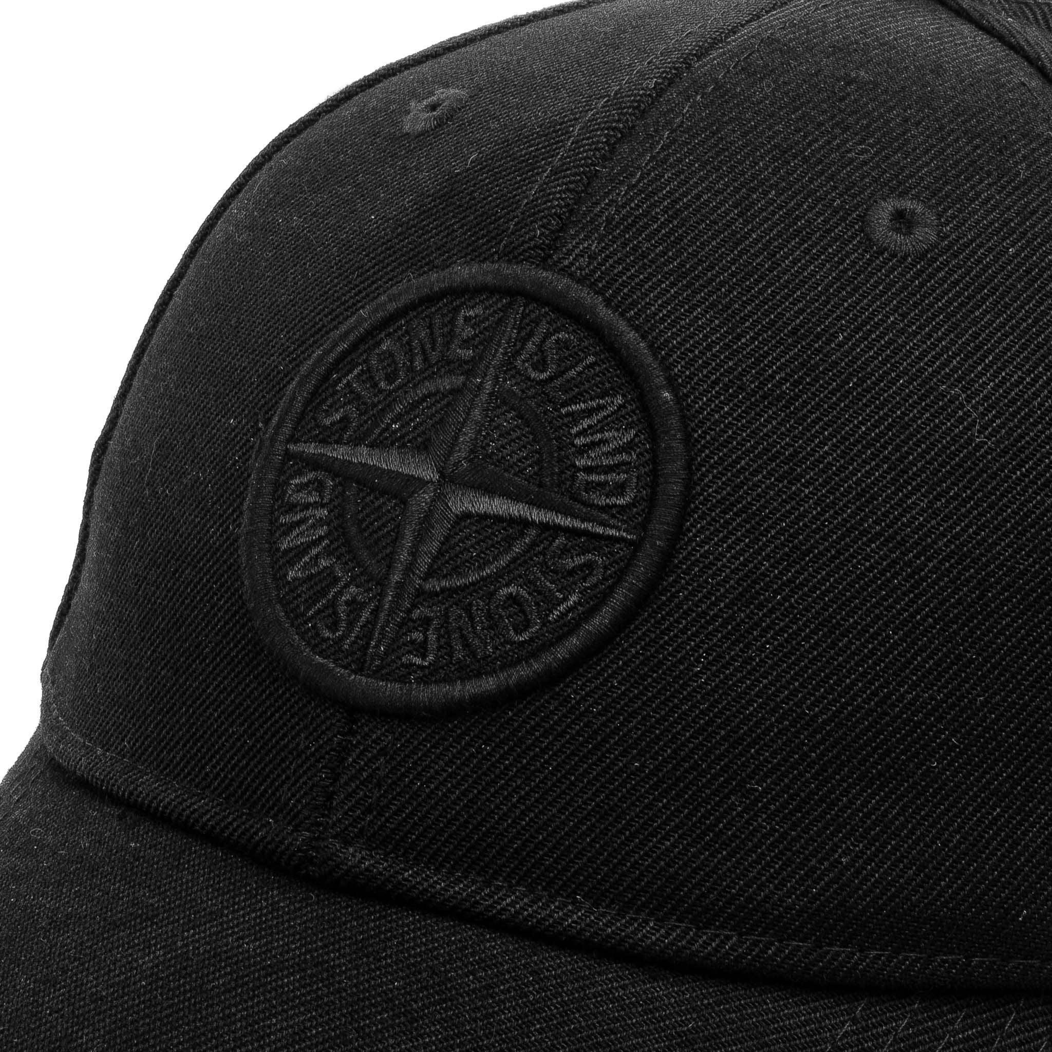Embroidered Logo Cap 741599661 Black