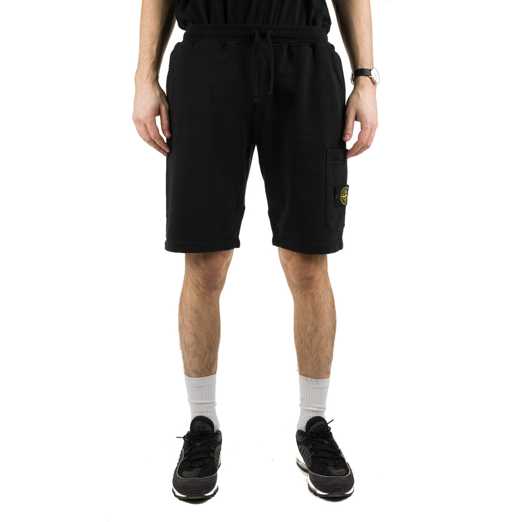 Garment Dyed Sweat Short 701564651 V0029 Black