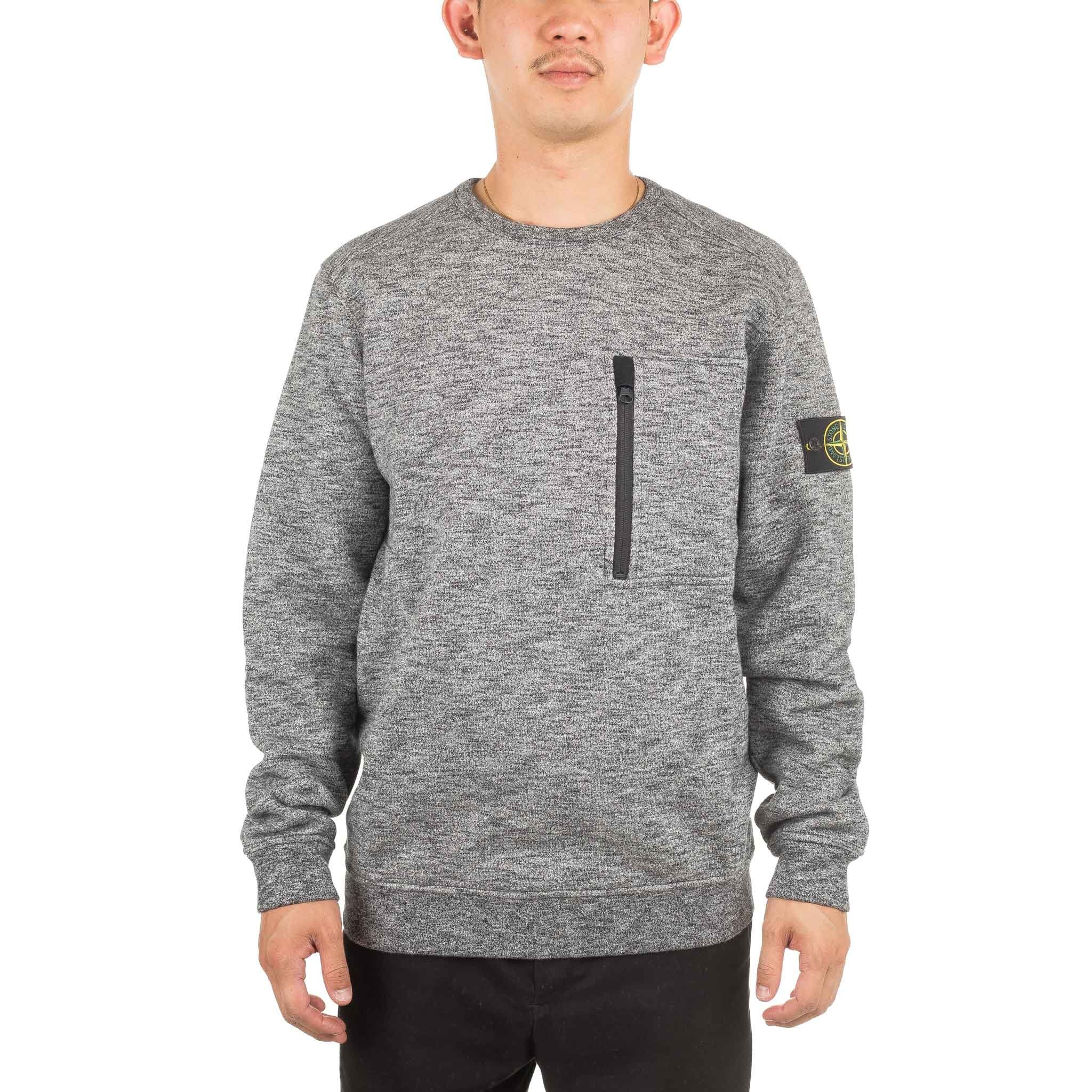 Crewneck Zip Pocket 691565437 Salt