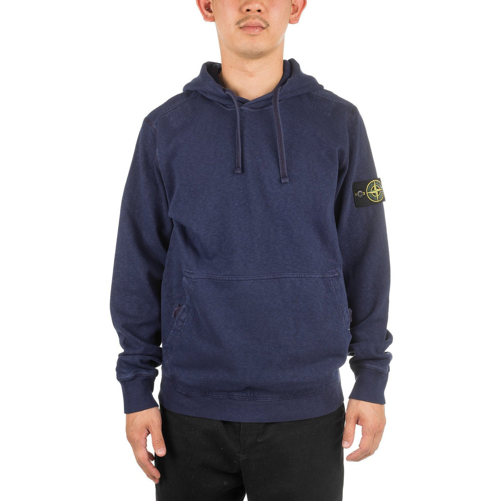 Garment Dyed Old Hoodie 691566161 Navy