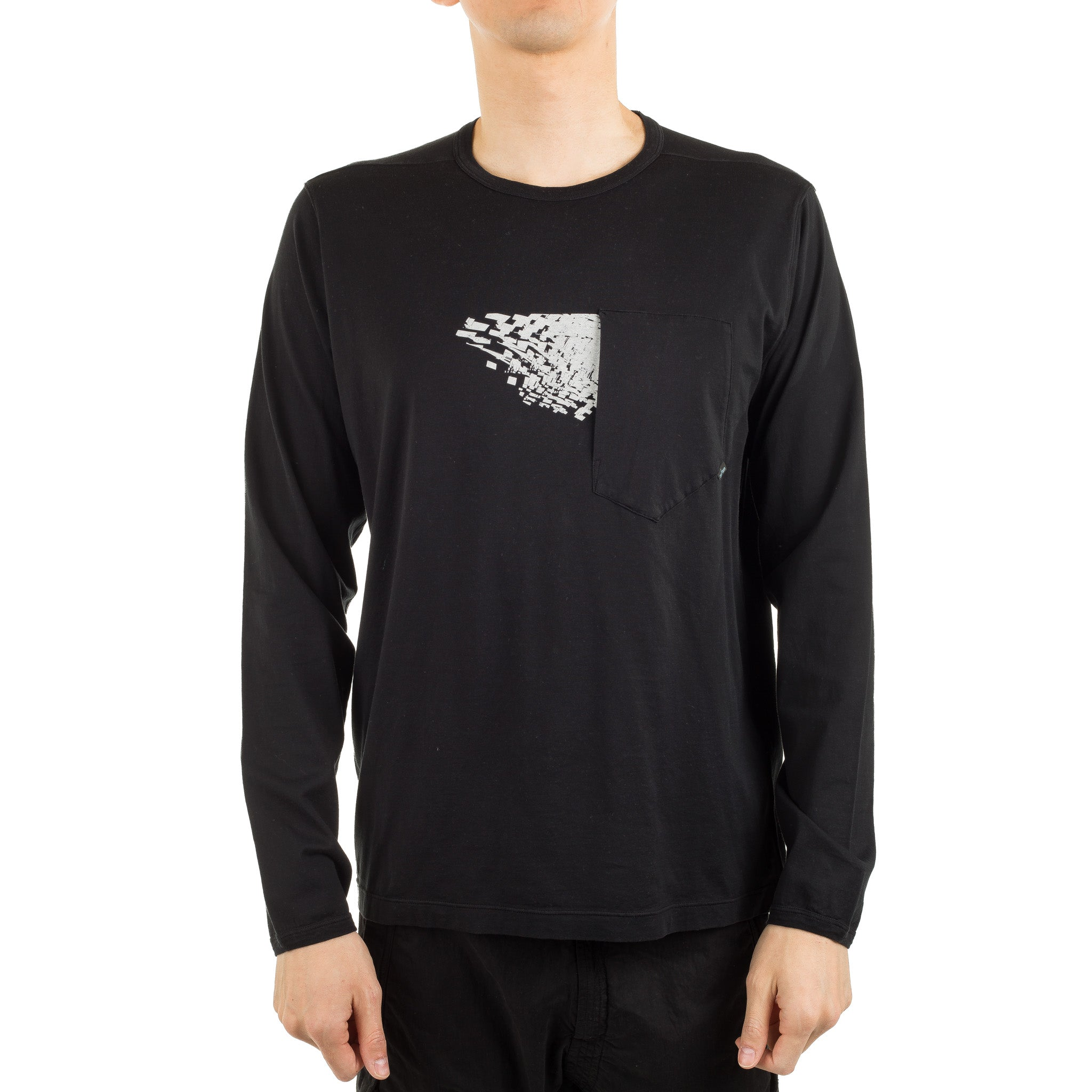 SP Long Sleeve Tee 701920214 Black