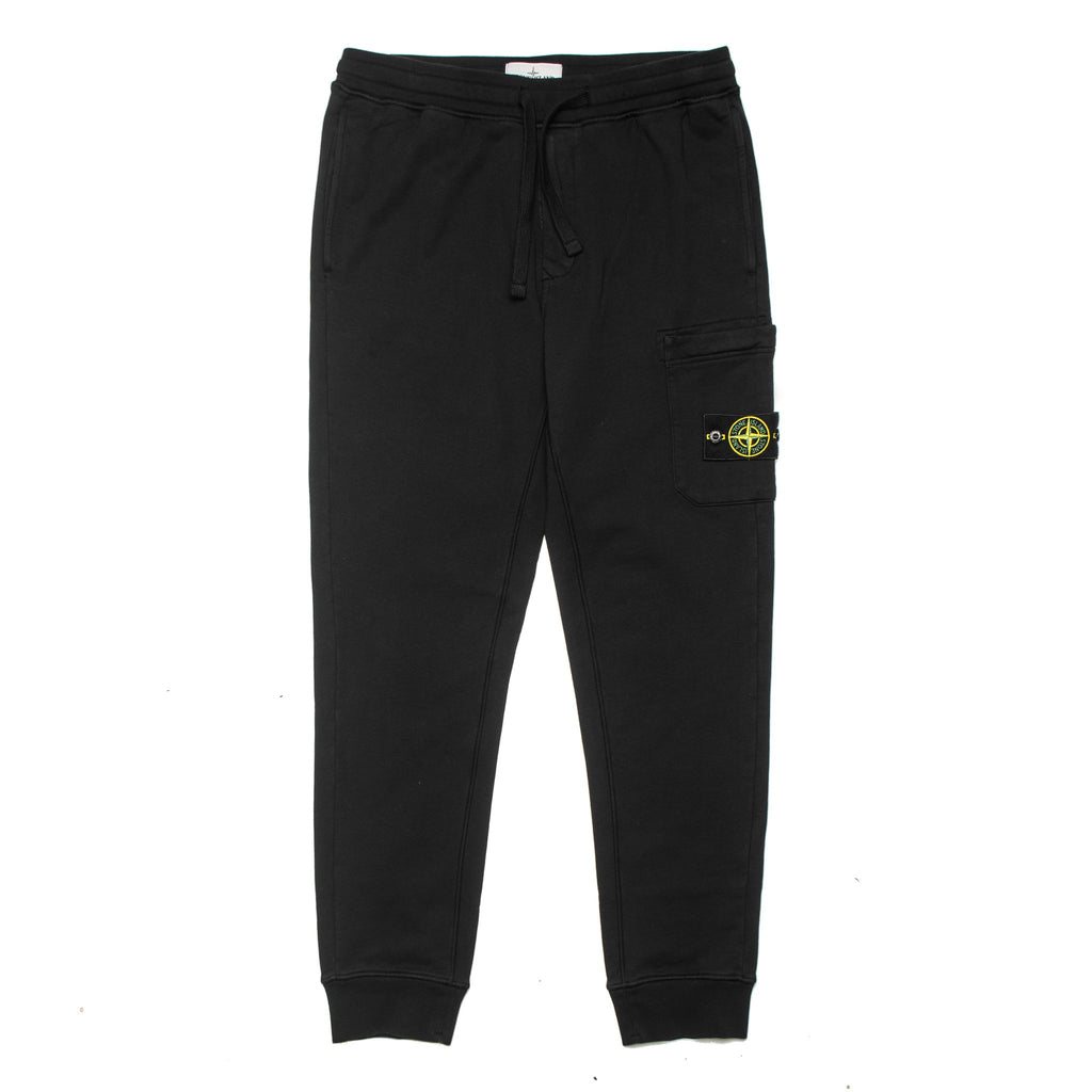 Garment Dyed Cargo Sweat Pants 731564520 Black