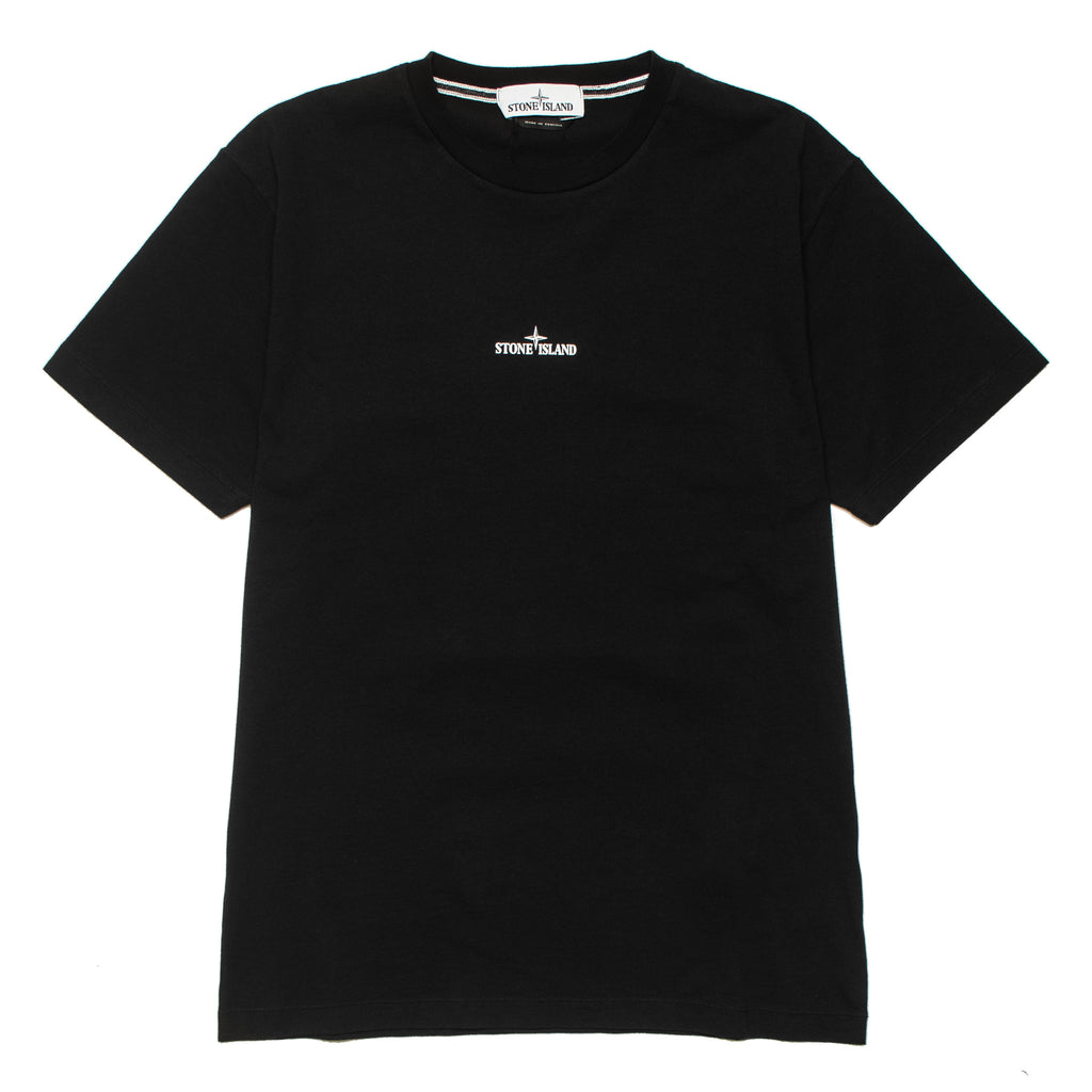 Chest Logo Tee 72152NS84 Black