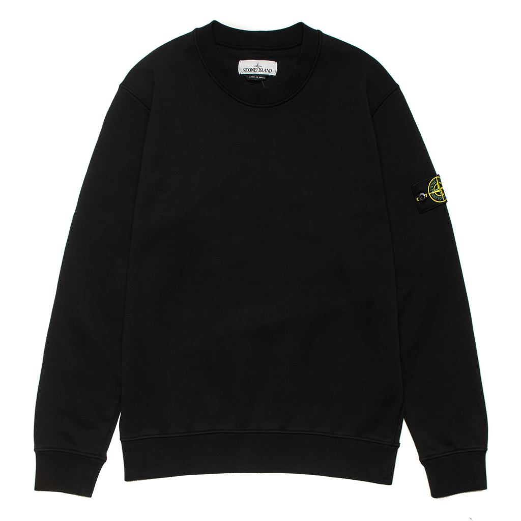 Garment Dyed Crewneck Sweatshirt 721563051 Black