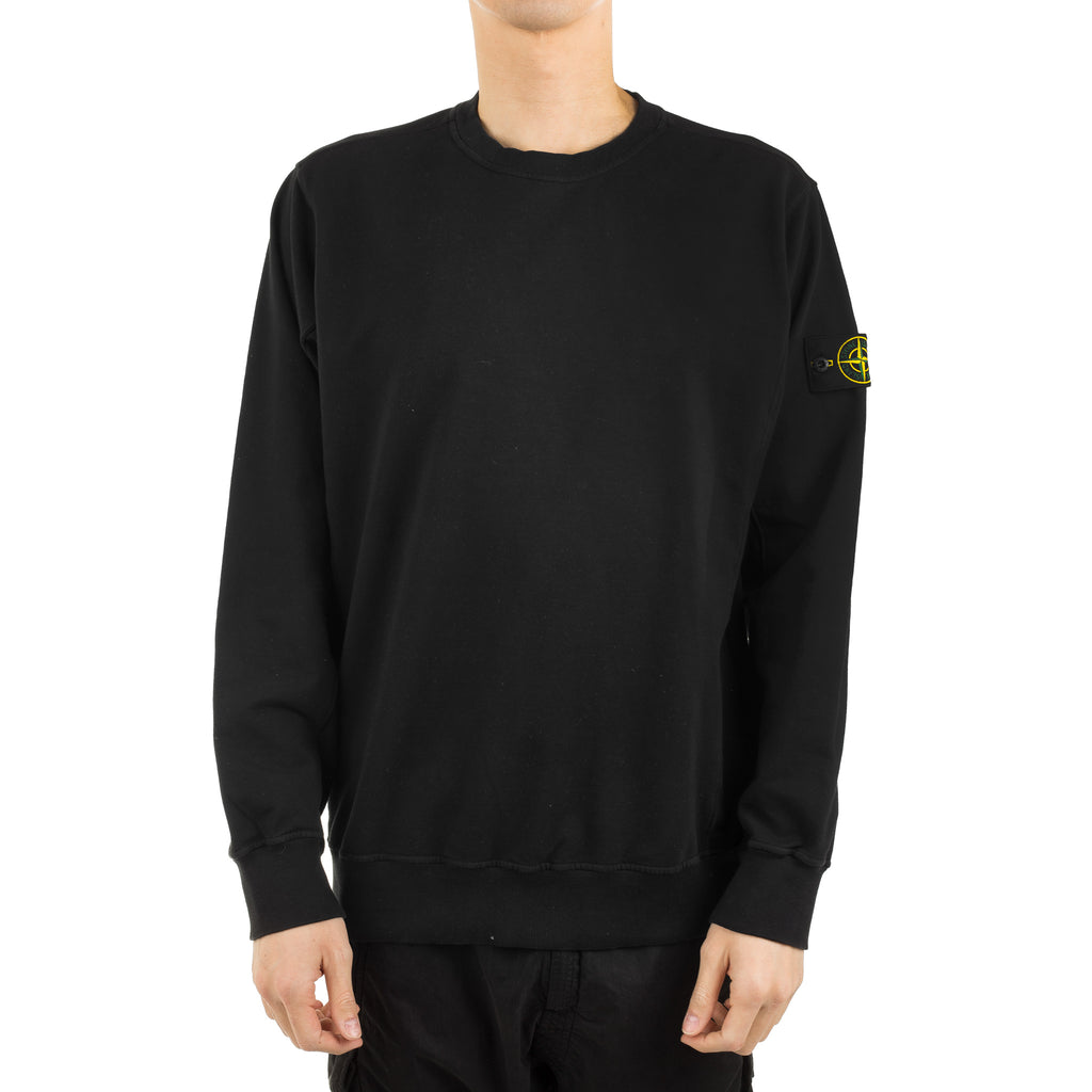Garment Dyed Crewneck 701561452 Black