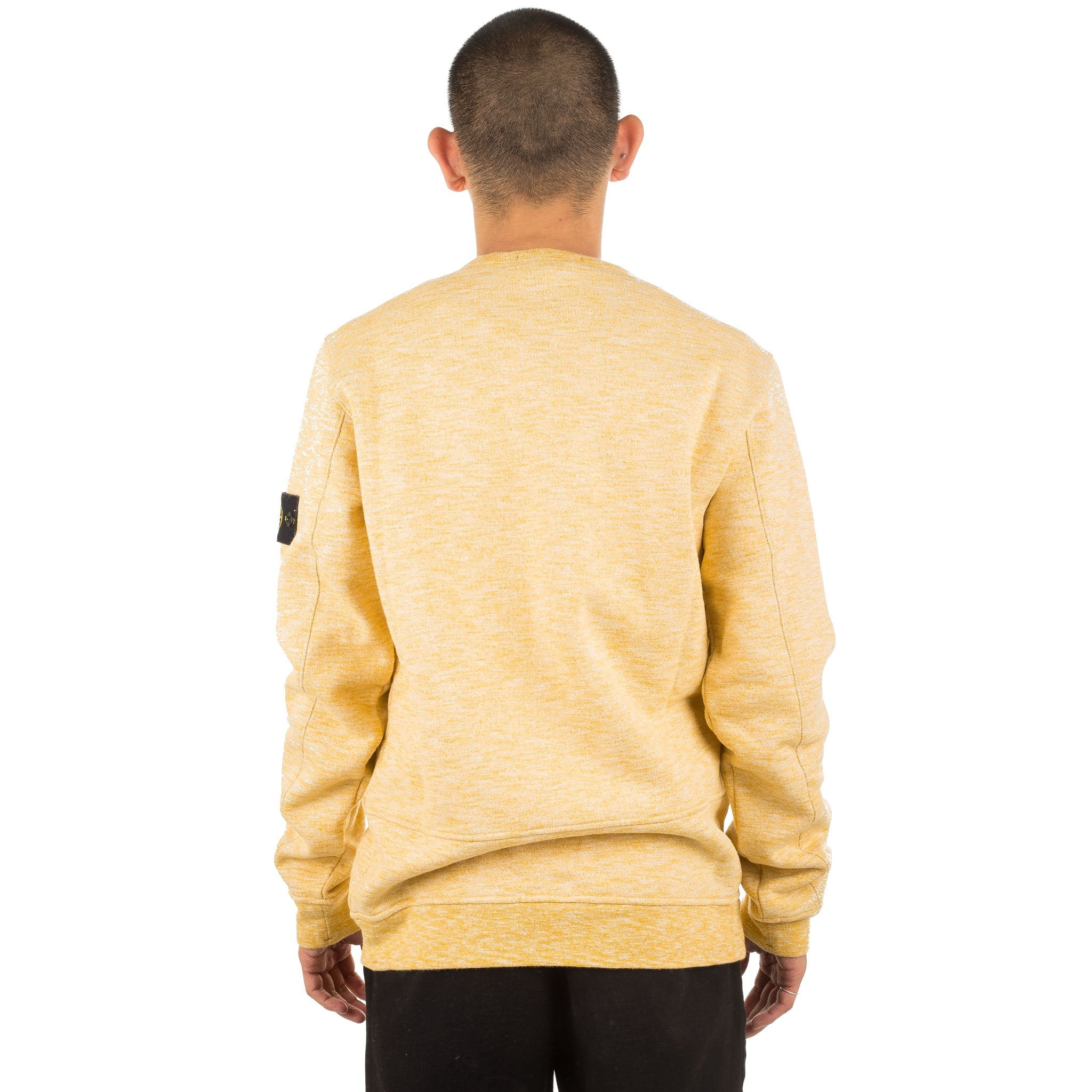 Crewneck Zip Pocket 691565437 Mustard