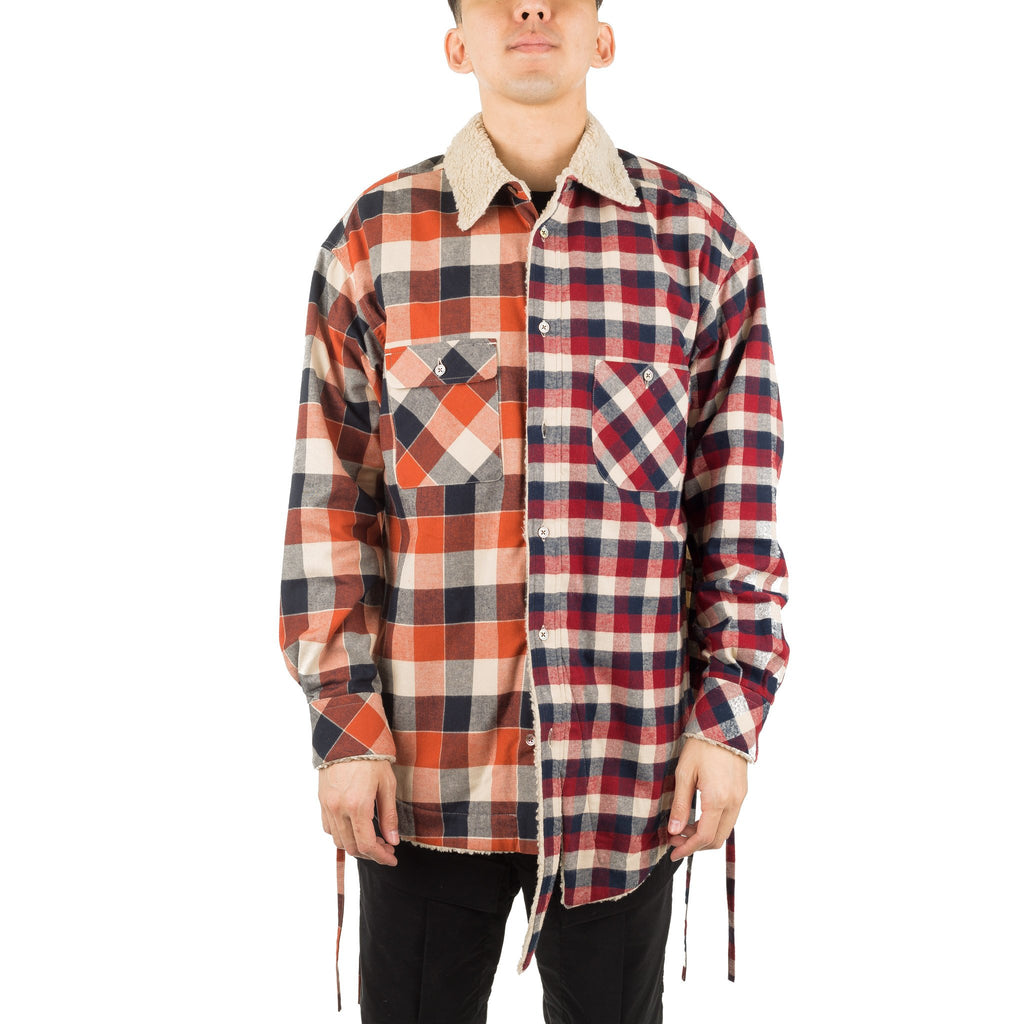 Facetasm Woven Shirt 18FWMRCM35 Red