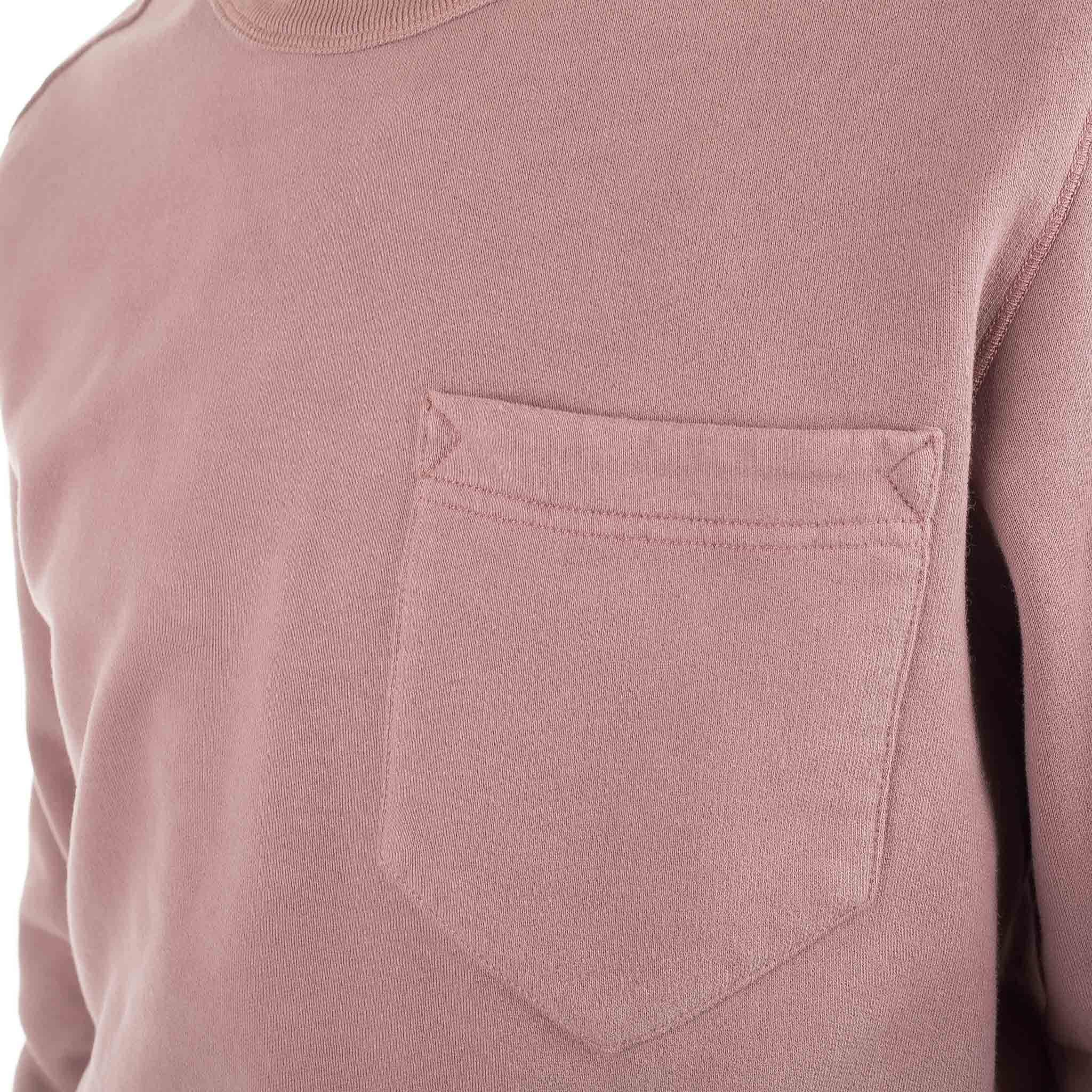Chest Pocket Sweatshirt 691563820 Rust Pink