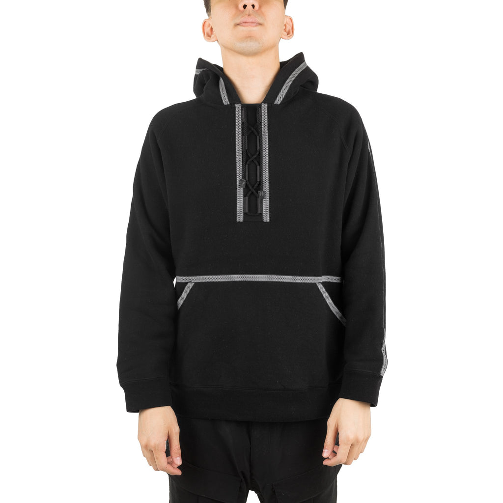 WM Taped Lace Knit Hoodie WM1873524 Black