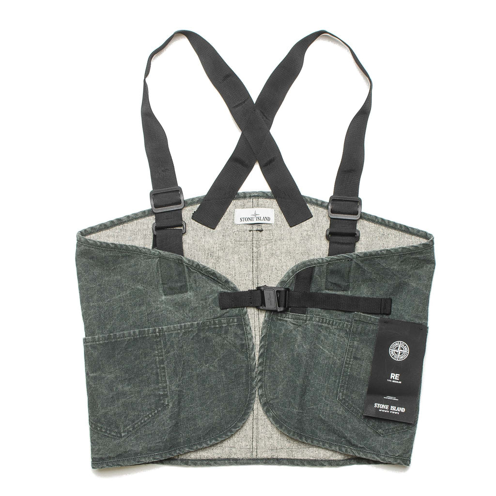 Overall Vest Tote 7115962J1 Rustic Green