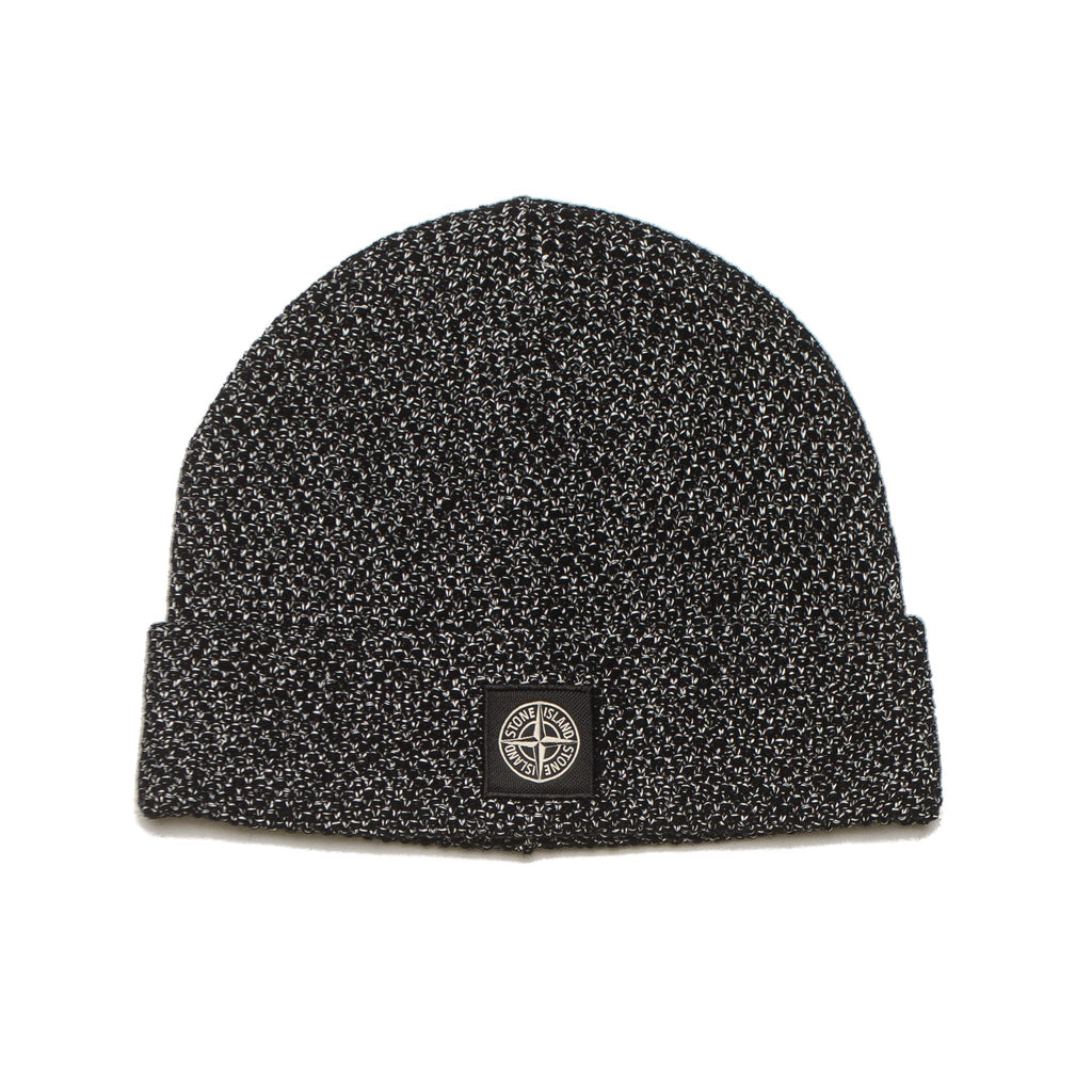 Reflective Stitch Beanie 7115N16C6 Black