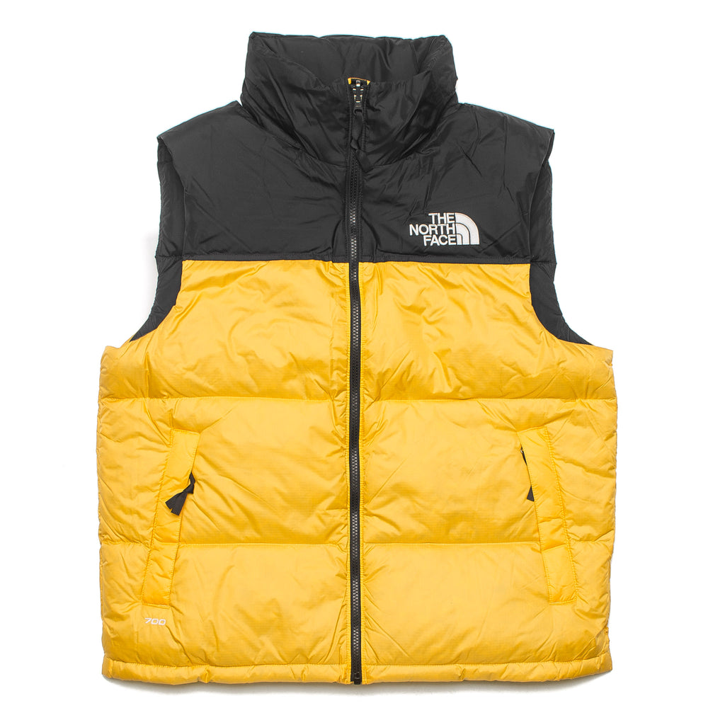 TNF 1996 Retro NUPTSE Vest Yellow/Black