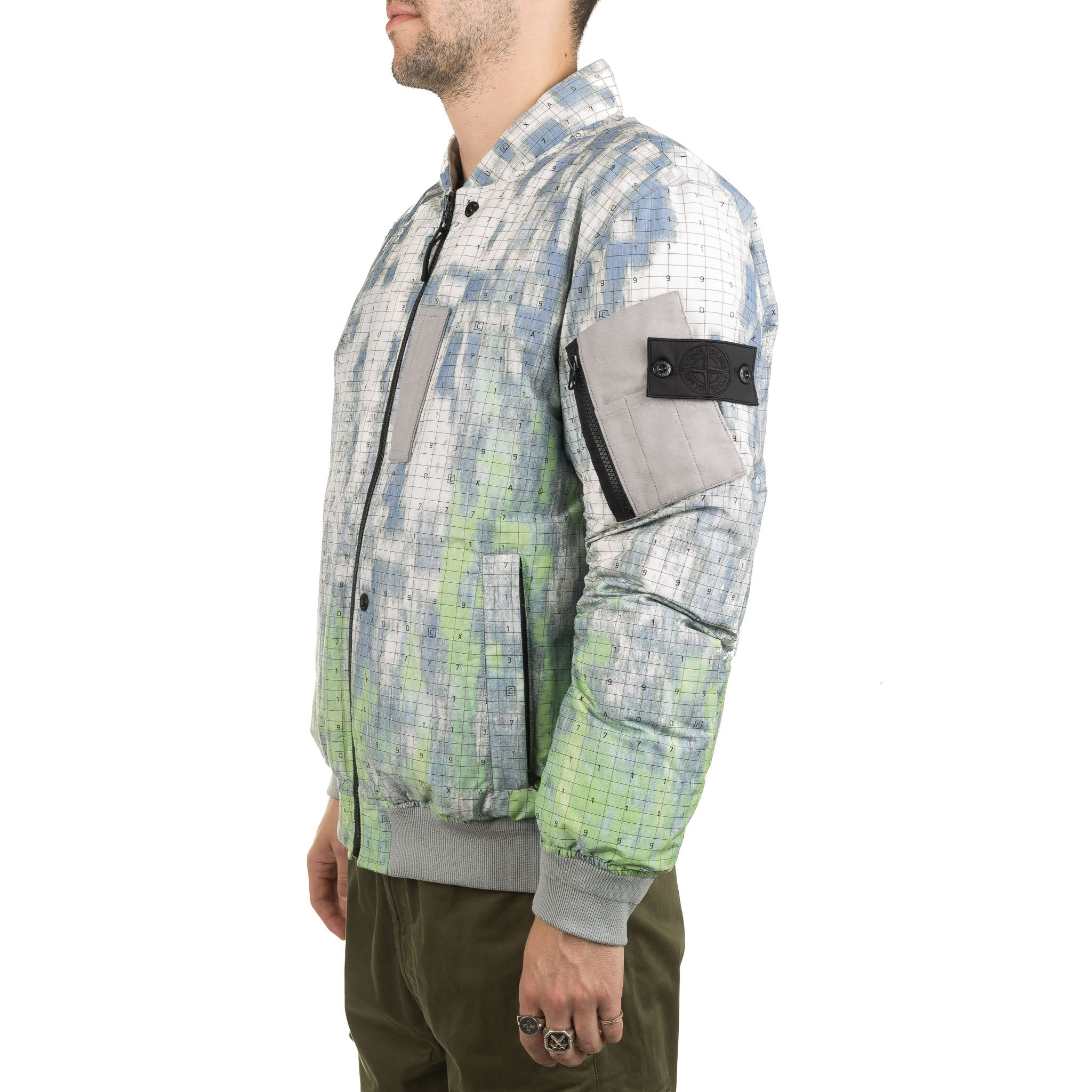 SP DPM Chine Bomber Down Jacket 711940813 Camouflage