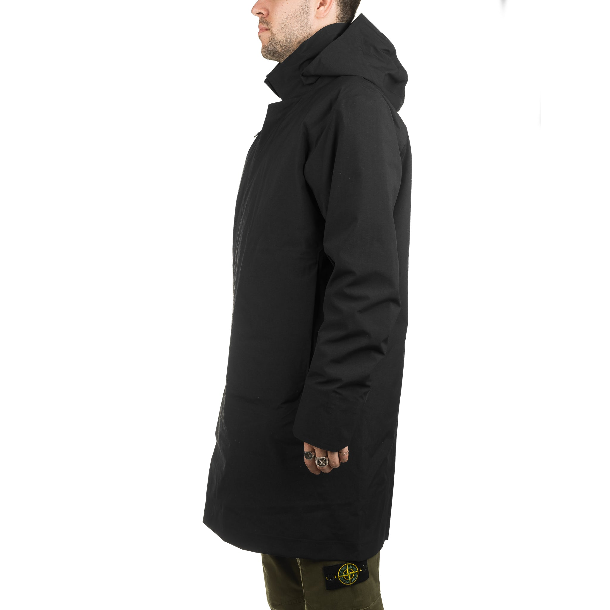 Galvanic Down Coat 18181 Black